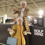 Stelzenlauf bei Rolf Benz